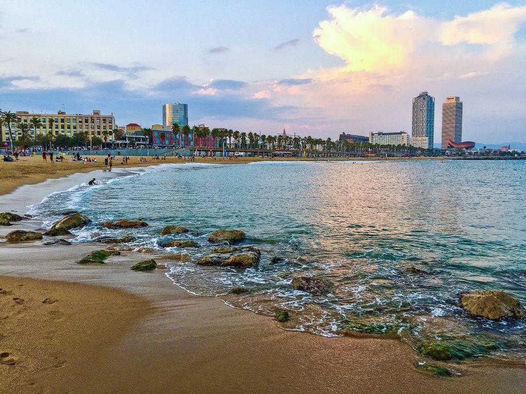 A beach city - Chennai a