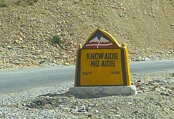 Know Aids   No Aids